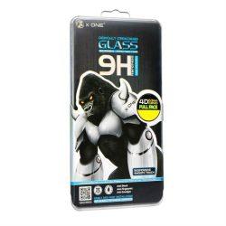 Protector LCD X-ONE - Samsung (SM-935) Galaxy S7 EDGE 4D (kis méret) Full Face fekete Edzett üveg tempered glass 9H üvegfólia
