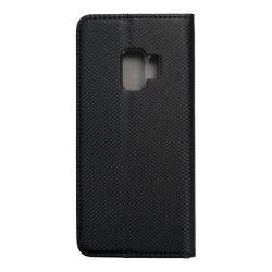 okos kihajtható tok Samsung Galaxy S9 fekete telefontok