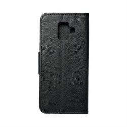 Fancy flipes tok Samsung Galaxy A6 2018 fekete telefontok