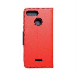 Fancy flipes tok Xiaomi redmi 6 piros / sötétkék telefontok
