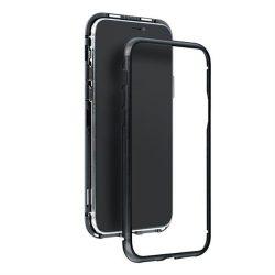 Mágneses Samsung Galaxy S8 fekete telefontok