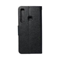 Fancy flipes tok Samsung Galaxy A9 2018 fekete telefontok