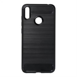 Forcell CARBON tok HUAWEI Y7 2019 fekete telefontok