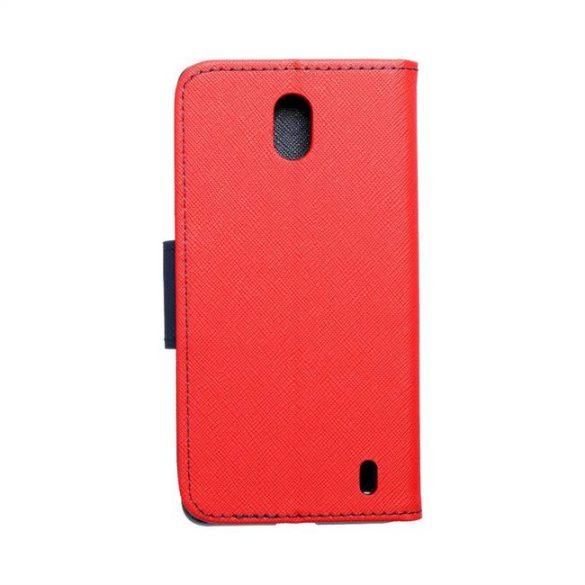 Fancy flipes tok NOKIA 1 Plus piros / sötétkék telefontok