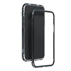 Mágneses Samsung Galaxy A20 / A30 fekete telefontok