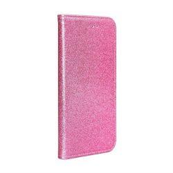 Forcell SHINING Book for Samsung Galaxy A20e Átlátszó rózsaszín telefontok