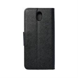 Fancy flipes tok LG K30 2019 fekete telefontok