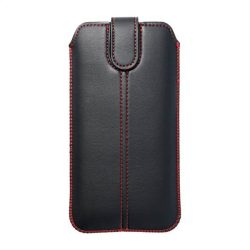 Forcell Pocket tok Ultra Slim M4 - az Iphone 12/12 PRO / Samsung Galaxy Note / Note 2 / Note 3 fekete telefontok