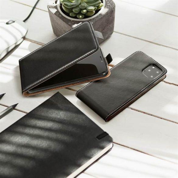 Flip tok Slim Flexi Fresh HUAWEI Nova 5T fekete telefontok