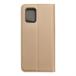 okos kihajtható tok for Samsung Galaxy S10 Lite arany telefontok