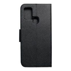 Fancy flipes tok Samsung Galaxy A21s fekete telefontok