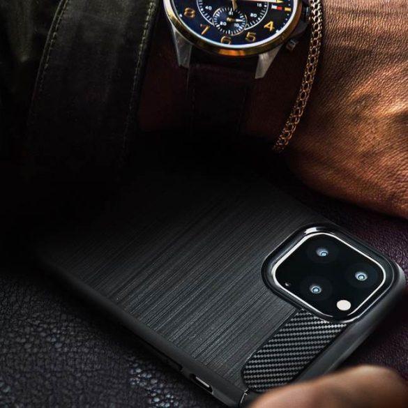 Forcell CARBON tok Xiaomi Mi 10 Lite fekete telefontok