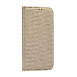 okos kihajtható tok for Samsung Galaxy A20s arany telefontok