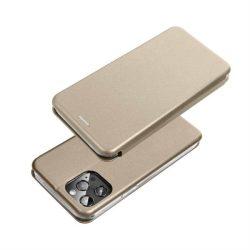 Book Forcell Elegance Samsung Galaxy A72 5G arany telefontok