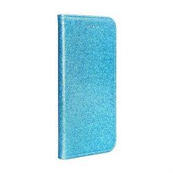 Forcell SHINING Book for Samsung Galaxy A72 5G Átlátszókék telefontok