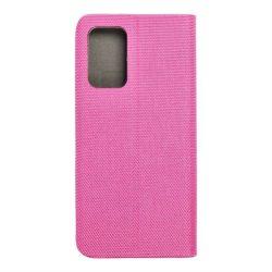 SENSITIVE Book for Samsung Galaxy A72 5G Átlátszó rózsaszín telefontok