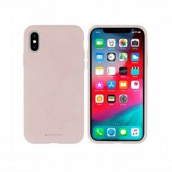 Mercury Szilikon tok iPhone 5 / 5S / SE rózsaszín homok telefontok