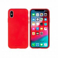 Mercury Szilikon tok iPhone 5 / 5S / SE piros telefontok