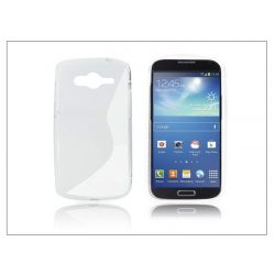 Samsung SM-G386 Galaxy Core LTE szilikon hátlap - S-Line - transparent