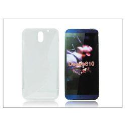 HTC Desire 610 szilikon hátlap - S-Line - transparent