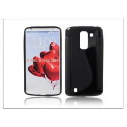 LG G Pro 2 D837 szilikon hátlap - S-Line - fekete