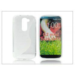 LG G2 Mini D620/D618 szilikon hátlap - S-Line - transparent