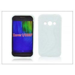 Samsung SM-G388F Galaxy Xcover 3 szilikon hátlap - S-Line - fehér