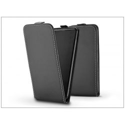 Slim Flexi Flip bőrtok - Huawei P20 Pro - fekete