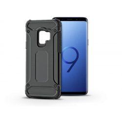 Samsung G960F Galaxy S9 ütésálló hátlap - Armor - fekete