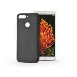 Huawei Y6 (2018)/Y6 Prime (2018)/Honor 7A szilikon hátlap - Soft - fekete