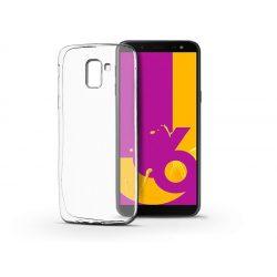 Samsung J600F Galaxy J6 (2018) szilikon hátlap - Ultra Slim 0,3 mm - transparent