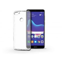 Huawei Y9 (2018) szilikon hátlap - Ultra Slim 0,3 mm - transparent