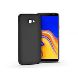 Samsung J415F Galaxy J4 Plus szilikon hátlap - Soft - fekete