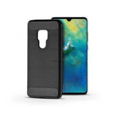 Huawei Mate 20 szilikon hátlap - Carbon - fekete