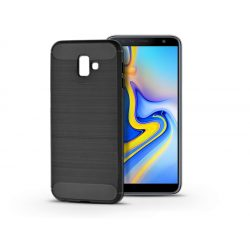 Samsung J610F Galaxy J6 Plus szilikon hátlap - Carbon - fekete