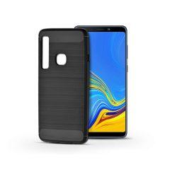 Samsung A920F Galaxy A9 (2018) szilikon hátlap - Carbon - fekete