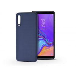 Samsung A750F Galaxy A7 (2018) szilikon hátlap - Soft - kék