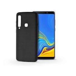 Samsung A920F Galaxy A9 (2018) szilikon hátlap - Soft - fekete