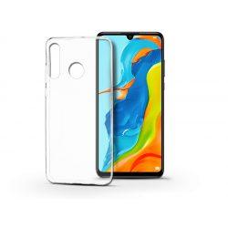 Huawei P30 Lite szilikon hátlap - Soft Clear - transparent