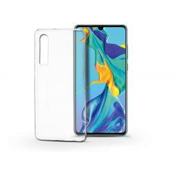 Huawei P30 szilikon hátlap - Soft Clear - transparent