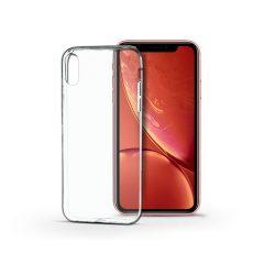 Apple iPhone XR szilikon hátlap - Soft Clear - transparent