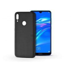 Huawei Y7 (2019)/Y7 Prime (2019) szilikon hátlap - Soft - fekete