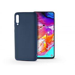 Samsung A705F Galaxy A70 szilikon hátlap - Soft - kék