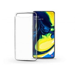 Samsung A805F Galaxy A80 szilikon hátlap - Soft Clear - transparent