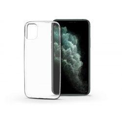 Apple iPhone 11 Pro Max szilikon hátlap - Soft Clear - transparent