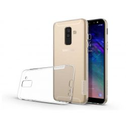 Samsung A605 Galaxy A6 Plus (2018) szilikon hátlap - Soft Clear - transparent