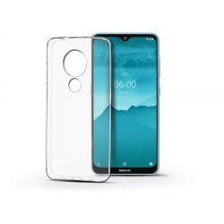 Nokia 6.2/7.2 szilikon hátlap - Soft Clear - transparent