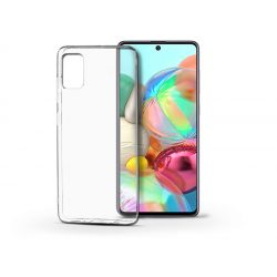 Samsung A715F Galaxy A71 szilikon hátlap - Soft Clear - transparent