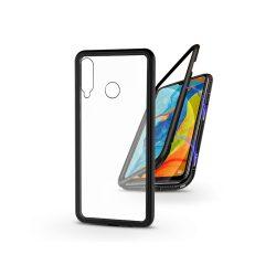 Huawei P30 Lite mágneses, 2 részes hátlap előlapi üveg nélkül - Magneto  fekete