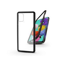 Samsung A515F Galaxy A51 mágneses, 2 részes hátlap előlapi üveg nélkül - Magneto  fekete